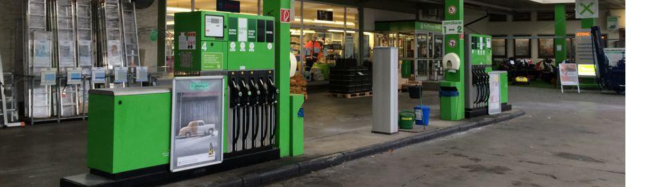Tankstelle - Volksbank Raiffeisenbank Nordoberpfalz eG - Geschäftsbereich Ware