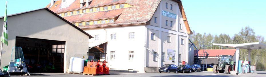 Agrar- und Gartenfachmarkt Waldsassen - Volksbank Raiffeisenbank Nordoberpfalz eG - Geschäftsbereich Ware