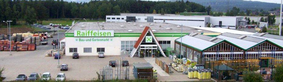 Baufachmarkt Mitterteich - Volksbank Raiffeisenbank Nordoberpfalz eG - Geschäftsbereich Ware